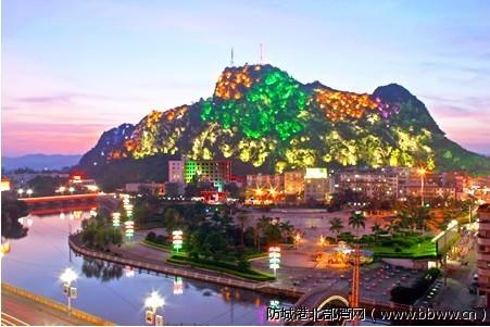 广西灵山六峰山风景名胜区 - 777aj henghenglu