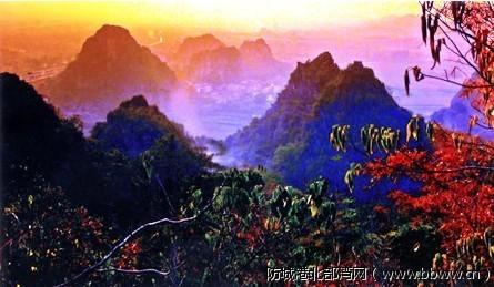 广西灵山六峰山风景名胜区